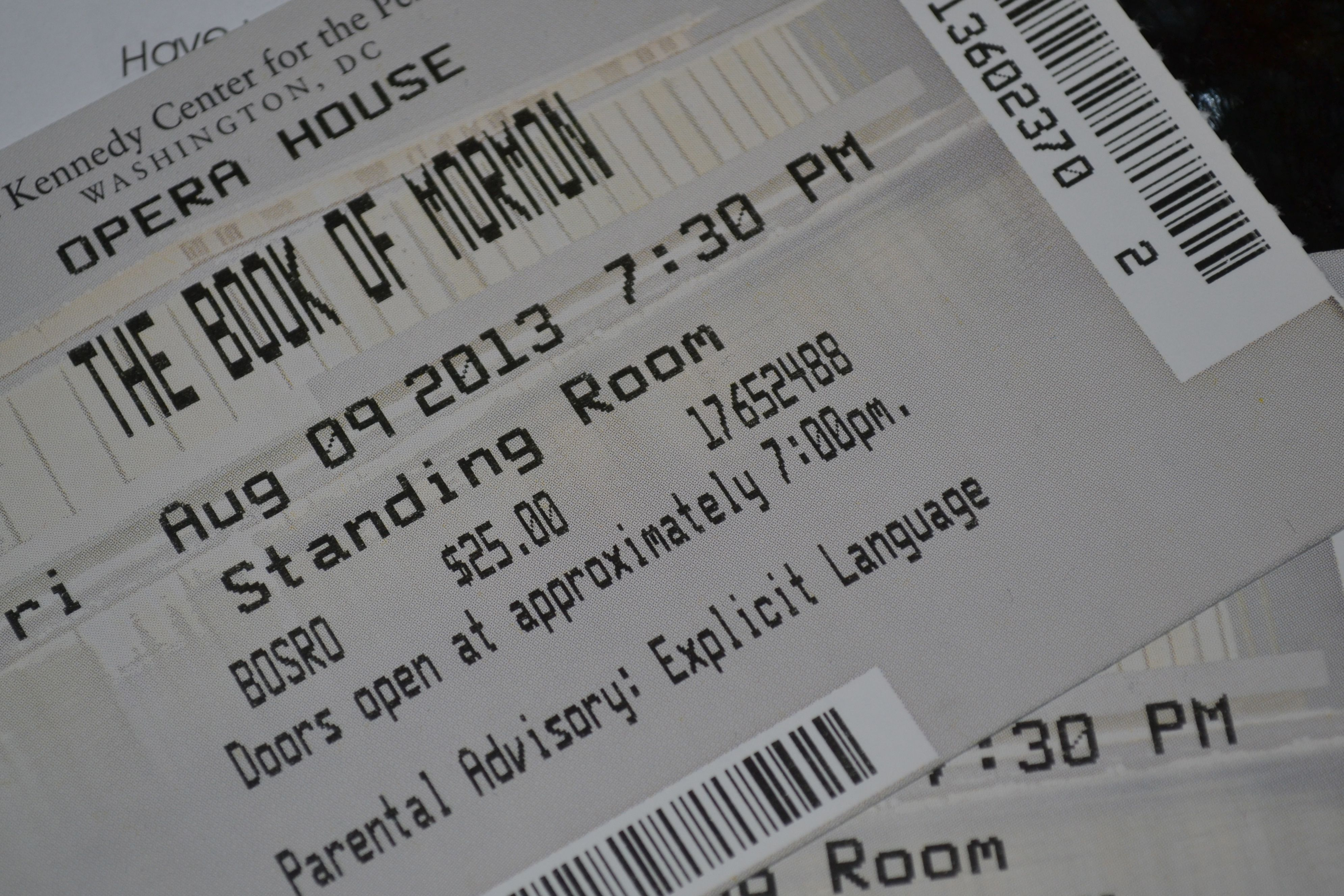 Getting tickets for the hottest show in dc the book of mormon 2girlsindc - The book of mormon box office ...